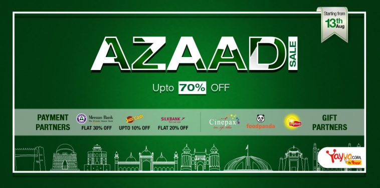 Day with Azaadi Sale